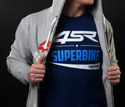 T-Shirt Superbike Blue - 4SR