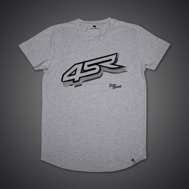 T-Shirt Logo Gray - 4SR