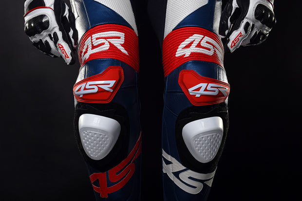 Knee sliders - white - 4SR