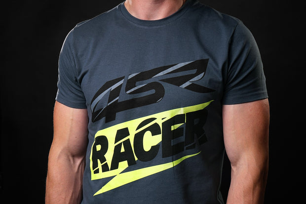 T-Shirt Racer Grey - 4SR