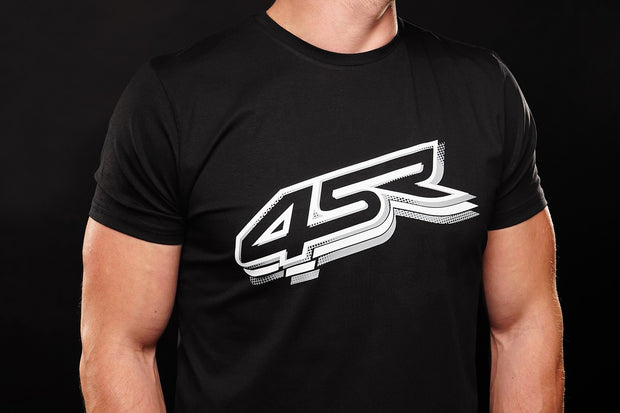 T-Shirt Logo Black - 4SR