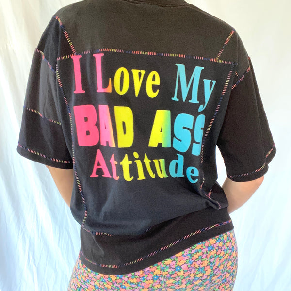 Bad Ass Collage Tee