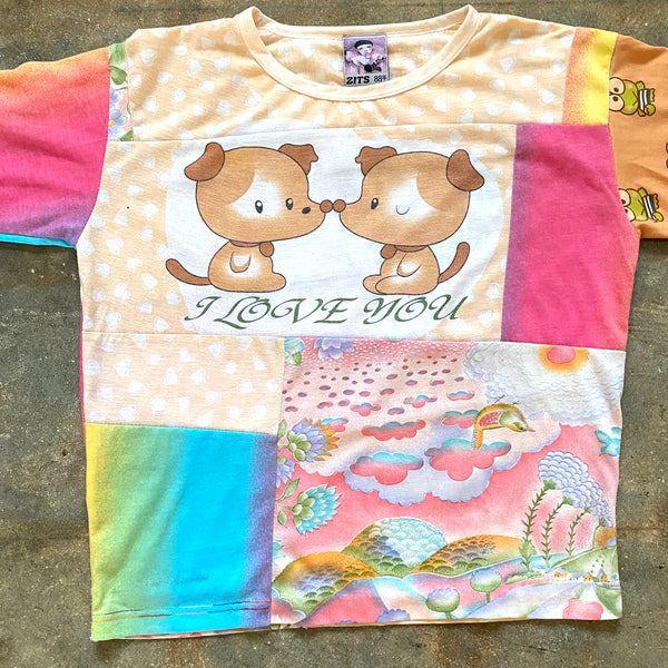 Love You Collage Tee