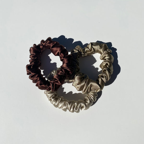 Medium Opulent Silk Scrunchies