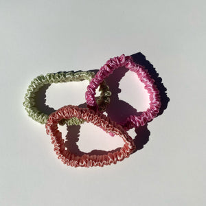 BB Opulent Silk Scrunchies