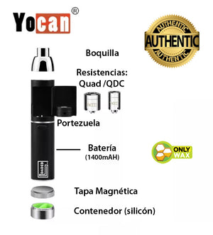 Yocan Loaded  deconstruido