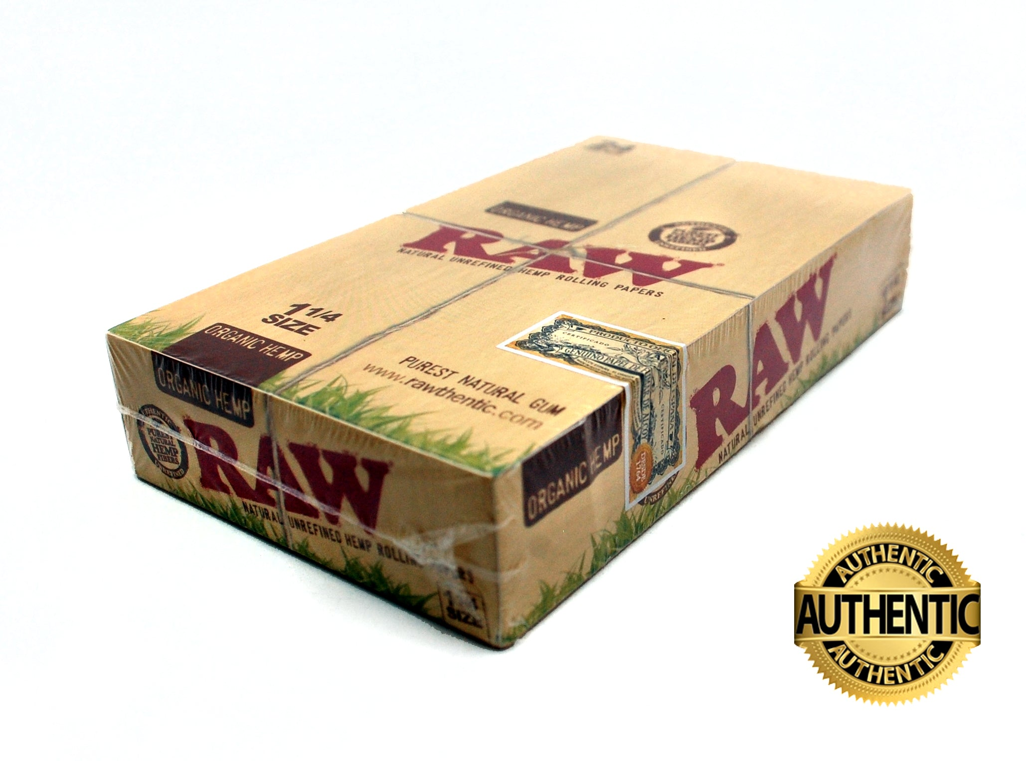 Display de Canalas RAW Organic Hemp 1 1/4 - Roostershop