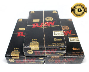 Display de Canalas RAW Black Classic 1 1/4 - Roostershop