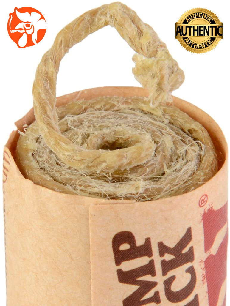 RAW WICKS de hemp y miel de abeja 1 rollo 3 mts. Alternativa Saludable para Fumar - Roostershop