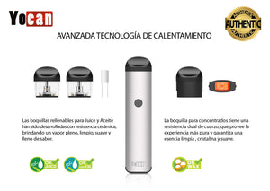 YOCAN EVOLVE 2.0 ORIGINAL con 3 PODS Triple propósito wow ! - Roostershop