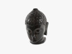 Buddha Head - Black Soft Granite
