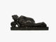 Sleeping Buddha - Black Soft Granite