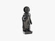 Standing Buddha - Black Soft Granite