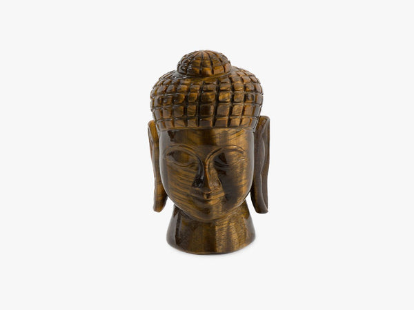 Buddha Head - Tiger Eye