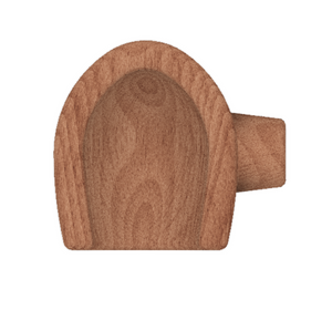 Better Block 08cm Oval- Replacement (Head Only)