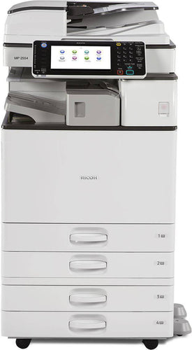 Repossessed Ricoh MP 2554 B/W Multi-function Copy/Print/Scan/Fax Newer Model