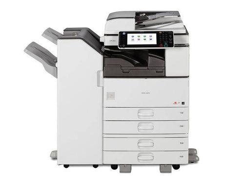 Ricoh MP 3353 B/W Multi-function Copy/Print/Scan/Fax 4 trays with Finisher