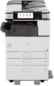 Pre-Owned Ricoh MP 3353 B/W Multi-function Copy/Print/Scan/Fax 2 trays Copier