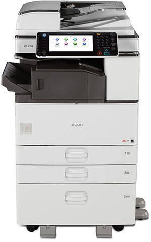 Repossessed Ricoh MP 2553 B/W Multi-function Copy/Print/Scan/Fax Copier