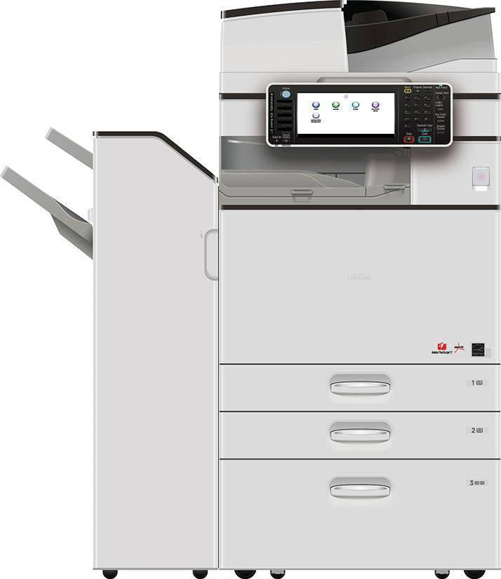 Ricoh MP 5054 B/W Laser Printer Multi function Used Copier