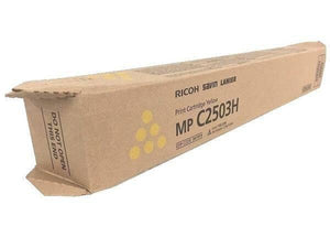 Ricoh MP C2503 Print Cartridge Yellow 841919 Genuine