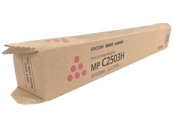Ricoh MP C2503 Print Cartridge Magenta 841920 Genuine