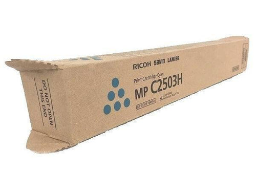 Ricoh MP C2503 Print Cartridge Cyan 841921 Genuine