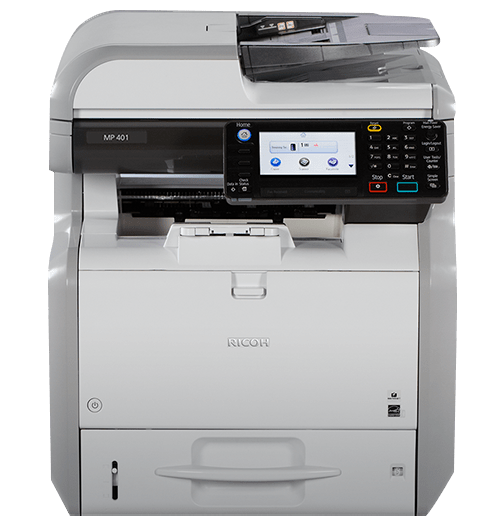 Repossessed MP 401SPF Low Count Newer Model Low Count Copier
