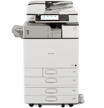Load image into Gallery viewer, Repossessed MP C3003 Colour Copier Low Count Copy/Print/Scan/Fax