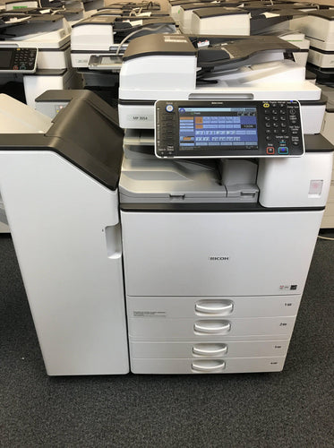 Ricoh MP 3054 B/W Copier Repossessed Low Count. Lease To Own From $67/month