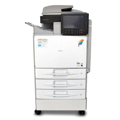 Pre-Owned MP C300SR Color Laser Multifunction Printer Less than 60K Counter