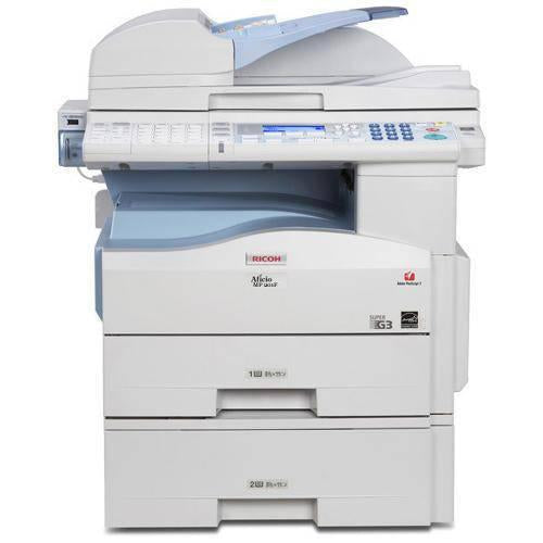 Pre-Owned MP 201SPF Copy/Print/Scan/Fax 2 Trays Copier