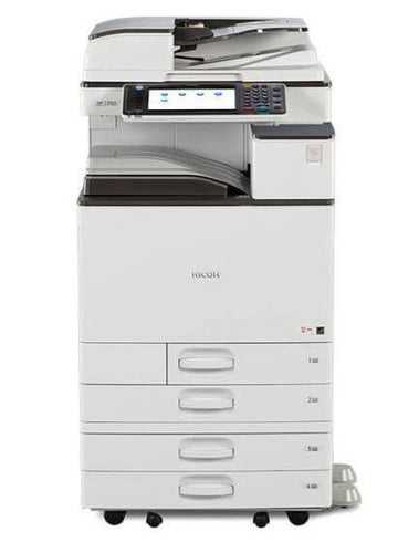 MP C3003 Colour Copier Multi-Function Copy/Print/Scan/Fax with 4 Trays