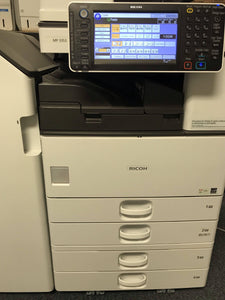 Repossessed Ricoh MP 3353 B/W Copy/Print/Scan/Fax 4 trays & Finisher