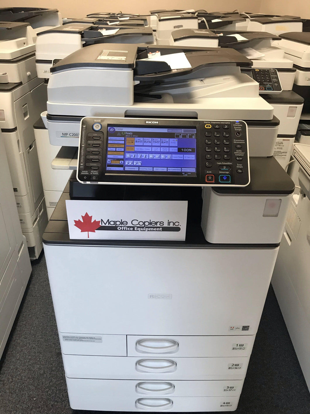 Ricoh MP C2003 Colour Copier Lease from $63/month