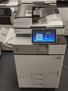 Ricoh MP C2504 Multifunction Color Copier Only 46K Meter 12 x 18