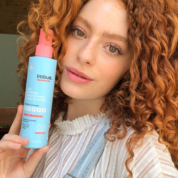 Imbue leave in conditioner for curly hair