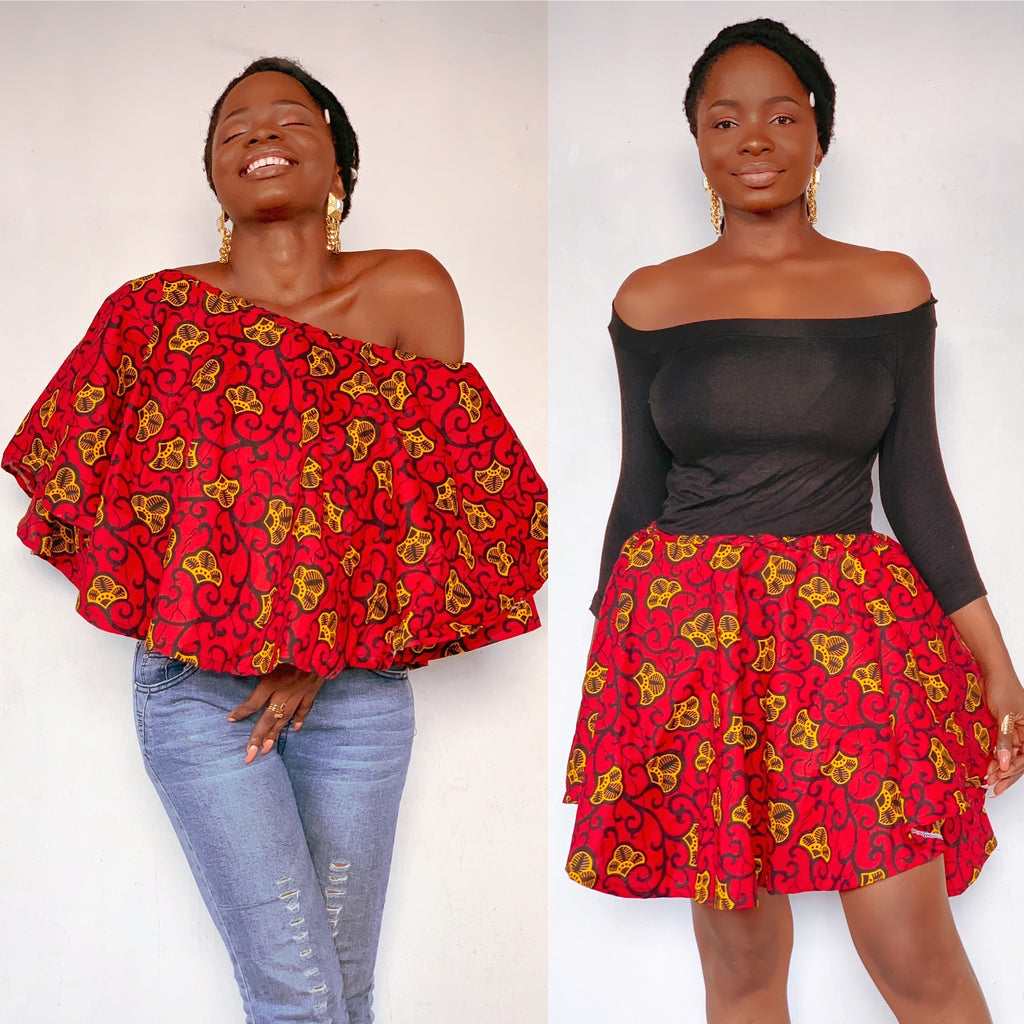 EMEFA OFF SHOULDER TOP