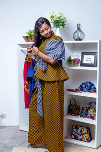 ANKARA 2 pieces- BOSS LADY