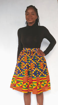 KENTE SKIRT- ROYALTY