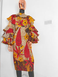 ANKARA DRESS - OMARI
