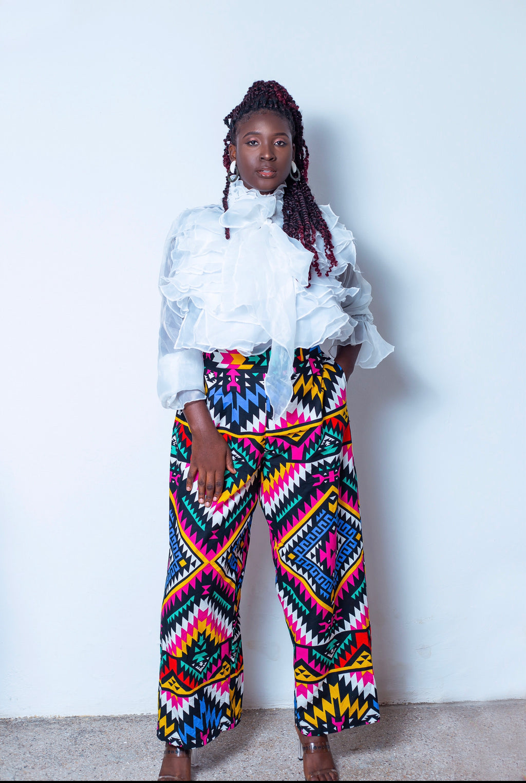 Wide leg pants- namze
