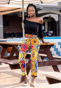 Colorful Ankara pants