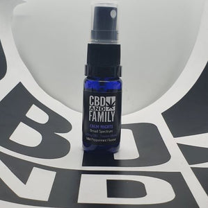 500mg CBD - Terpene Infused CBD Oral Spray - Calm Nights Edition