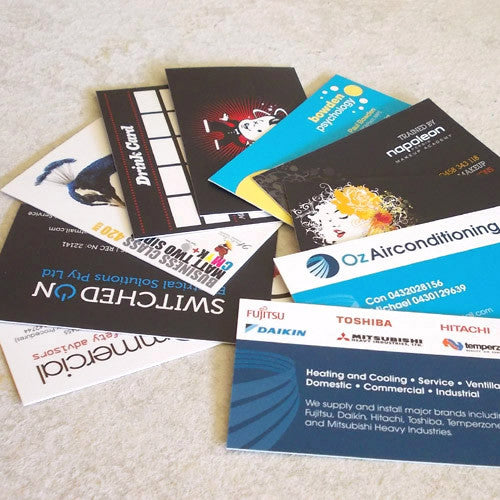 Business Cards ~ Premium 420gsm Artboard + Celloglaze Gloss/Matt - Better Business Cards