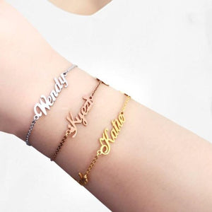 TrulyCraved Classic Name Bracelet and Anklet