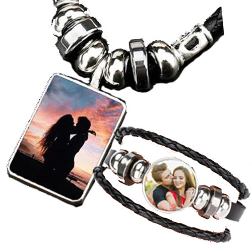 TrulyCraved Image Pendant Bracelet & Necklace