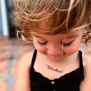 TrulyCraved Classic Name Necklace Baby