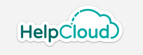 HelpCloud Logo Sticker
