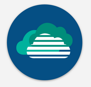 Retro HelpCloud Sticker